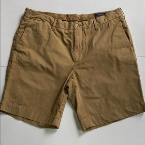 POLO RALPH LAUREN Straight Fit Cotton Shorts